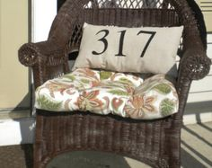CANVAS ADDRESS PILLOW, Custom Order, Stencil, Housewarming, Gift, New Home, Canvas, Pillow, Numbers, Personalized, Colors - Edit Listing - Etsy