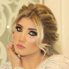 Kurdish girl makeup and hair by salon Mounir Pinterest: @kvrdistan