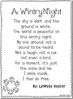 Free Winter Poem
