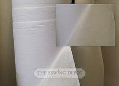 Woven Heavy-Weight Fusible Interfacing (Gygli)