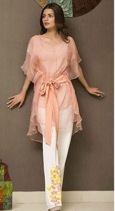 Coral pant suit