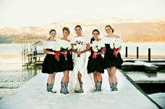 Stunning winter wedding that took place at Shore Lodge Resort in McCall, Idaho.