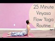 This is a 25 minute vinyasa flow yoga routine. It involves warming up, multiple standing postures, cooling down, and a final savasana. I hope you enjoy it! T...