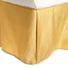 Superior Long-Staple Combed Cotton 300 Thread Count Sateen Weave Bedskirt Gold - 300QNBS SLGL