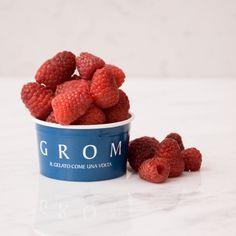Sorbetto al Lampone - Grom - 50% di lampone Raspberry, Fruit, Food, Meal, The Fruit, Eten, Raspberries, Meals