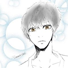 かわいい系男子。 銀髪すきって多いのかなぁ( ˊᵕˋ ) #絵 #イラスト #らくがき ... LINEスタンプ 販売中!