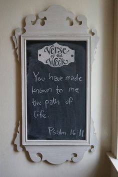Antique Frame Verse of the week by kijsa on Etsy