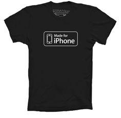 Playera Apple Made for iPhone www.skiddawshop.com