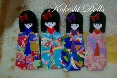 Origami Maniacs 184: Kokeshi Dolls
