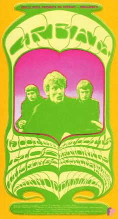 Cream + MC-5: Grande Ballroom, Detroit, MI 10/13-15 1967