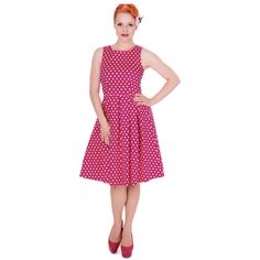 dolly + dotty Lola Swing Dress 95% cotton £20 in UK 20 (US 16)