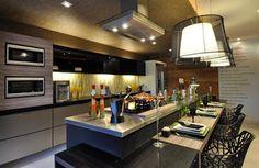 Arte e Decoração: Cozinhas - planejadas ou sob medida