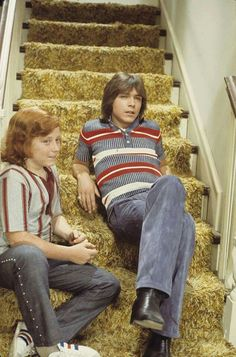 The Partridge Family (1970-1974) and the infamous 1970s shag carpeting.