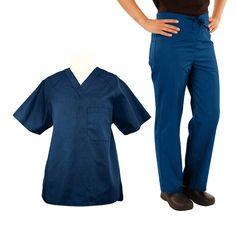 Basics by allheart Men's Scrub Set #nurse #doctor #hospitalstyle #medicalstyle #scrubs