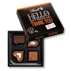 Café & Cia: Hello, My Name is ... by Lindt