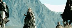 Gif. Everything Legolas does is worth pinning. via Typical Fangirl