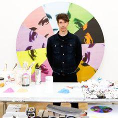 Richard Phillips in his new studio.  | Art Ruby
