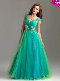 A-line Off-the-shoulder Sleeveless Floor-length Tulle Prom Dress #VJ373 - See more at: http://www.avivadress.com/prom-dresses/popular-prom-dresses.html?p=2#sthash.to0BnVEw.dpuf