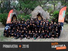 Todo un éxito nuestra temporada #Primavera2016 y la familia sigue creciendo ¡Un reconocimiento especial a todos y cada uno de los miembros de nuestro #Crew por trabajar con pasión para ofrecer experiencias de viaje inolvidables a todos los aventureros que expedicionan la #HuastecaPotosina con nosotros! #WeLoveAdventure
