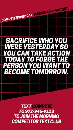 Embrace the mistakes you made yesterday so you can keep competing for the life you want to live today! Live Today, Positive Motivation, Take Action, Mistakes, Motivational Quotes, Life, Motivating Quotes, Quotes Motivation, Motivation Quotes