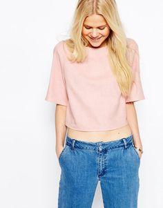 ASOS | ASOS - T-shirt casual effet lin chez ASOS