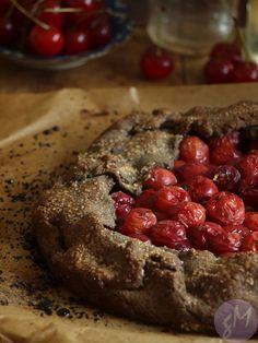 Gluten-Free Sour Cherry Galette with Buckwheat Flour