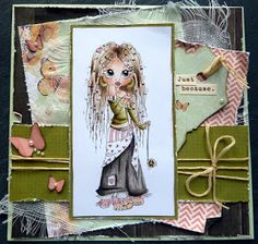 Sister's Craft: Sentimental Sundays # 108 - cute and girly (Bomus - COLOR)