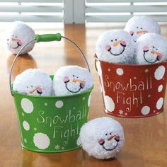 Indoor Snowball Fight Kit - wonder if I can make this cheaper