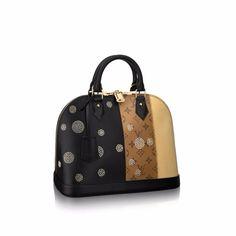 670529361fef Louis Vuitton Monogram Reverse Alma PM Night Light Bag Alma Pm