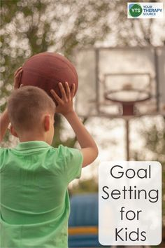Goal Setting for Kids - Your Therapy Source Goal Setting For Students, Self Monitoring, Pediatric Occupational Therapy, Intrinsic Motivation, Executive Functioning, Physical Therapist, Personal Goals, Lose 20 Pounds, Activities To Do