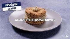Ha valami extrát szeretnél: almáspite-kekszszendvics. Készítsük együtt! #aldi #recept #aldiárakon Ale, Muffin, Breakfast, Food, Morning Coffee, Ale Beer, Essen, Muffins, Meals