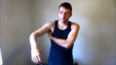 Self-massage for frozen shoulder / shoulder pain Rotator Cuff Stretches, Rotator Cuff Tear, Neck Exercises, Shoulder Tendonitis, Shoulder Injuries, Frozen Shoulder Exercises, Shoulder Workout, Shoulder Stretches, Chiropractic Treatment