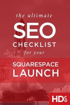 SEO for beginners and seasoned veterans alike: Use the free SEO Checklist for Launching Your Squarespace Website. Seo Marketing, Marketing Digital, Business Marketing, Internet Marketing, Online Marketing, Business Tips, Online Business, Marketing Branding, Content Marketing