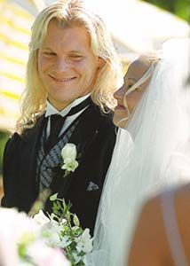 On July 30, 2000, Christopher Keith Irvine (Chris Jericho) married his girlfriend Jessica Lee Lockhart at the St. Charles Country Club in Winnipeg, Manitoba, Canada.