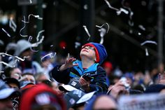For the Giants, a Parade, Keys to the City, and a Day Full of Cheers