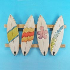 surf boards for holding accories