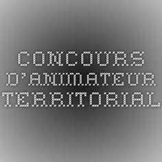 concours d'animateur territorial