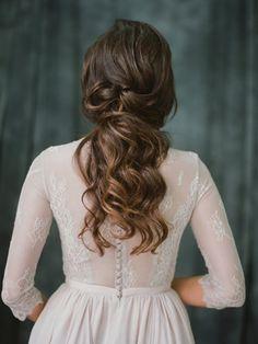 Non-corset robe de mariée a-ligne silhouette de lavande avec