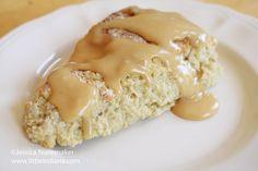 Peanut Butter and Banana #Scones #Recipe