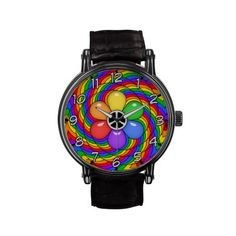 Peace and Rainbows Watches