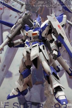 Custom Build: MG hi-nu Gundam Ver. Gundam Custom Build, Gunpla Custom, Custom Paint Jobs, Gundam Model, Mobile Suit, Plastic Models, Scale Models, Science Fiction, The 100