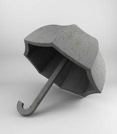 石で作られた重たすぎるカサ
