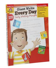Another great find on #zulily! Grades 2-6 Giant Write Every Day Workbook #zulilyfinds
