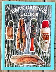 NEW Bark Carving Book II Gen Jansen 2002 by RedPineStudioMN