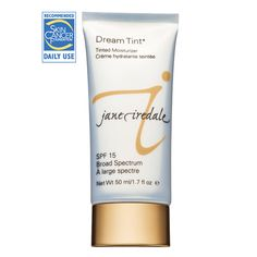 jane iredale Dream Tint Tinted Moisturizer is a hydrating and calming tinted moisturizer with SPF 15 that minimizes the look of large pores and wrinkles. Comes in 5 shades, two brighteners, and a bronzer. Mineral Foundation, No Foundation Makeup, Moisturizer With Spf, Moisturiser, Skin Elasticity, Beauty Shop, Luxury Beauty, Soft Surroundings, Nordstrom