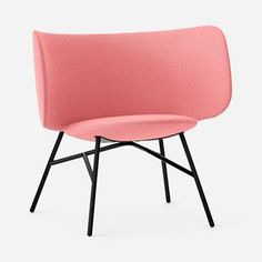 The new Stella 2.0 by +Halle. Designed by Busk + Hertzog. Available in an array of upholstery options - shown here in Kvadrat/Raf Simon Vidar 62…