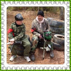 d day paintball games
