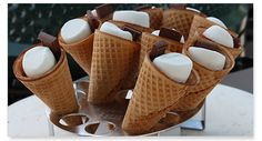 A new spin on an old treat that friends and family will love! #smores #chocolate