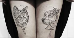 I Started Doing Linear Tattoos To Escape The Hard Times And I Can't Stop! | Bored Panda