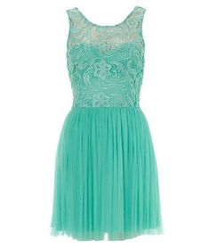 Lipsy Sleeveless Low Back Lace Dress love the color and the lace!!!